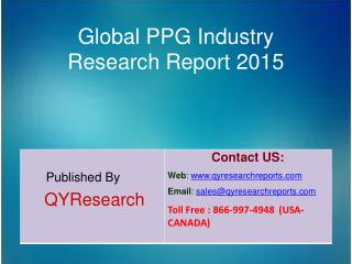 Global PPG Market 2015 Industry Analysis, Development, Outlook, Growth, Insights, Overview and Forecasts