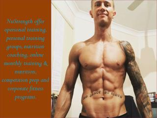 Fitness Center Personal Training