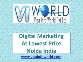 SMO company(9899756694) in Noida India-visainfoworld.com