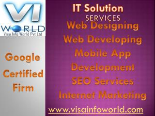 visa info world best(9899756694) IT solutions india-visainfoworld.com