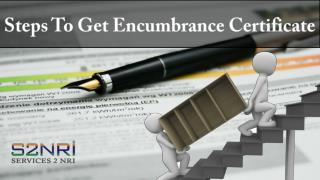 Steps To Get Encumbrance Certificate