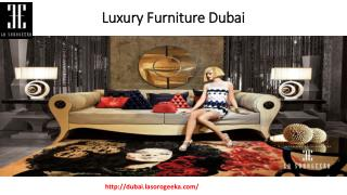 Luxury Furniture Dubai