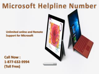Get Help For Microsoft Call Microsoft Helpline 1-877-632-9994 Tollfree 24*7 available