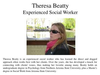 Theresa Beatty Experienced Social Worker