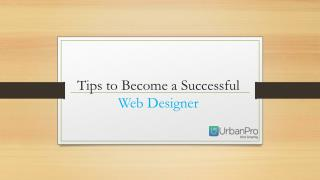 Tips to Become a Successful Web Designer