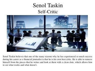 Senol Taskin Self-Critic