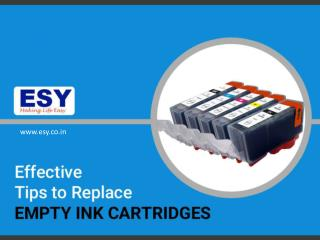 Effective Tips to Replace Ink Cartridges