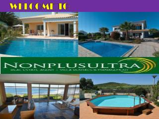 Private Holiday Villas and Apartments in Portugal