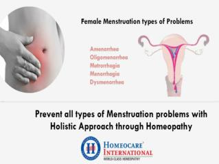 PCOS Treatment | Homeocare International