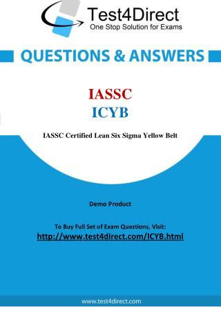 IASSC ICYB Test - Updated Demo