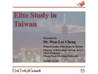 Introduction of Taiwan-Thailand Elite 600 Scholarship Program