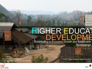 Higher Education Development Contributing to Economic Growth and Sustainable Development