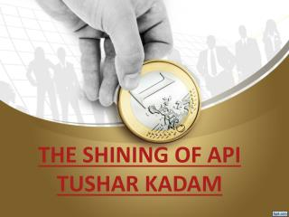 THE SHINING OF API TUSHAR KADAM