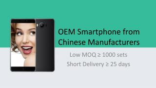 CnOEMPhone - Low MOQ Smartphones Wholesale from Chinese OEMs