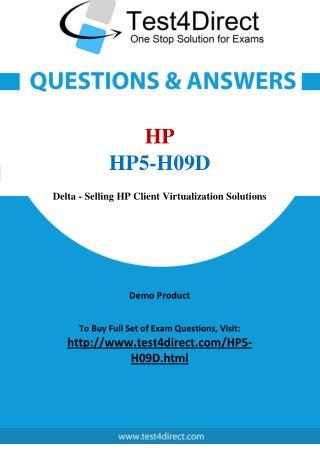 HP HP5-H09D Exam Questions