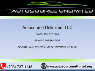 Autosource Unlimited LLC