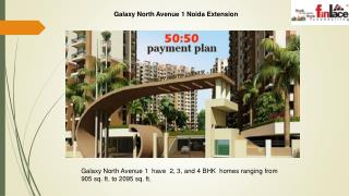 Galaxy North Avenue homes at Noida Extension