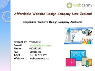 Website Design Company in New Zealand
