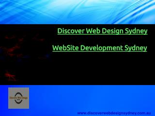 Website Development At Low Cost | Discover Web Design Sydney.