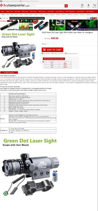 Laser Sights for Handguns