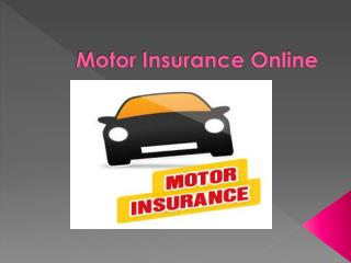 Buy Best Motor Insurance Plan to Make Your Road Journey Safe