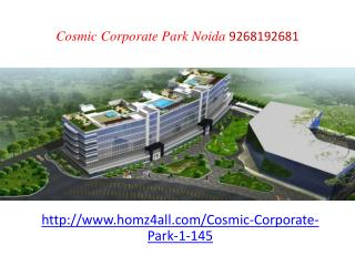 Cosmic Corporate Park Noida