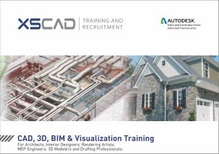 Online Revit & CAD Training at XS CAD's Training and Recruitment Centre