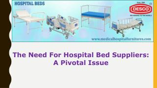 Hospital Bed Suppliers India | DESCO
