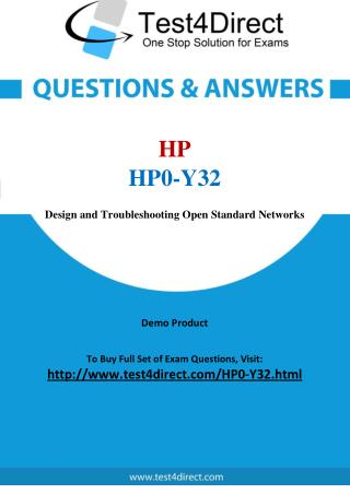 HP HP0-Y32 ASE Real Exam Questions