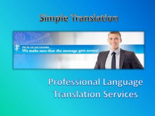 Solve Your Translation Problem With Our Fastest Language Translation Service