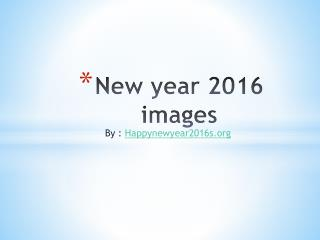 New year images collection