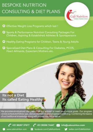 Highly Effective Online Nutrition Services