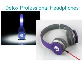 Detox Professional Headphones