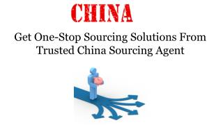 Get One-Stop Sourcing Solutions from Trusted China Sourcing Agent