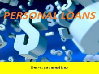 Personal unsecured loans in uk