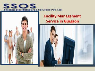 Facility Management Service in Gurgaon
