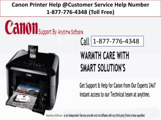 Canon Printer Support Number ||| 1-877-776-4348 number toll free