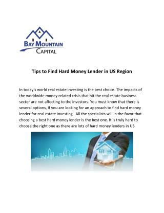 DFW Hard Money Lender