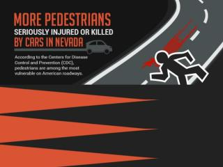 More Pedestrians Seriously Injured or Killed by Cars in Nevada