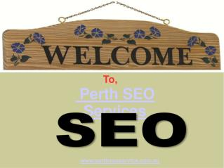 Best Perth SEO Online marketing companies