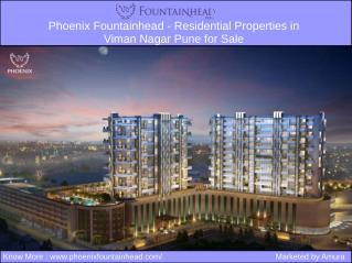 Phoenix Fountainhead - Residential Properties in Viman Nagar Pune for Sale
