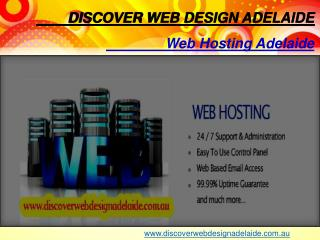 Fast, Reliable & Secure Web Hosting | Discover Web Design Adelaide