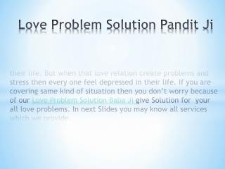 Love Problem Solution Guru  ji