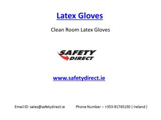 Modern Latex Gloves in Ireland at SafetyDirect.ie