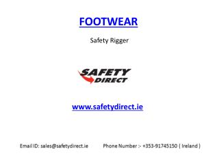 Safety Rigger in Ireland at safetydirect.ie