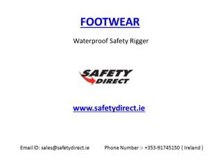 Waterproof Safety Rigger in Ireland at safetydirect.ie