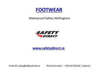 Waterproof Safety Wellingtons in Ireland at safetydirect.ie