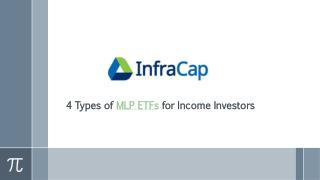 4 Types of MLP ETFs for Income Investors