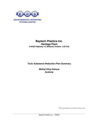 Baytech Plastics Inc