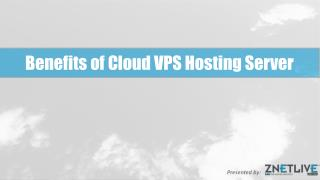 Major Benefits of Cloud Virtual Private Server Hosting